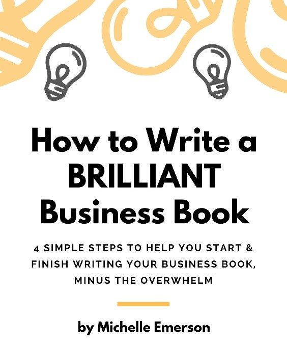 So You're Thinking of Writing a Business Book?