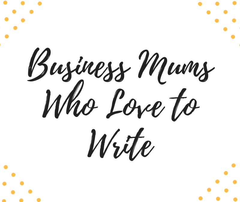 Business Mums Who Love to Write #1 Jensen Reed