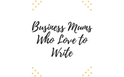 Business Mums Who Love to Write #9: Rachel Hawkes