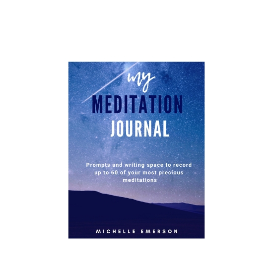 My Meditation Journal: Guided Questions & Prompts