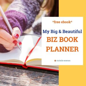 My Big & Beautiful Biz Book Planner