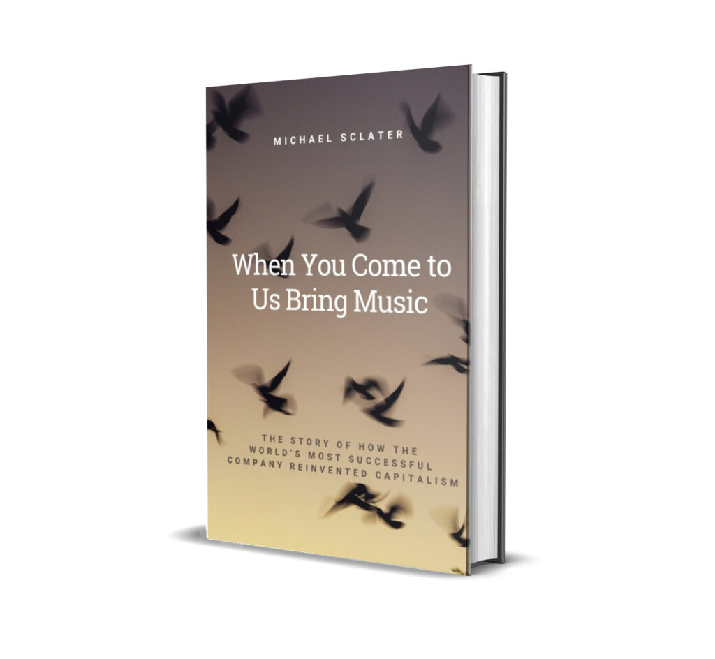 Michael Sclater_When You Come to Us Bring Music
